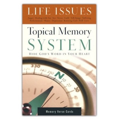 Topical Memory System Life Issues - Verse Cards