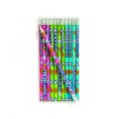 Pencil Sports Message 24 Pack