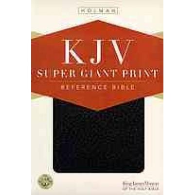 KJV Super Giant Print Black