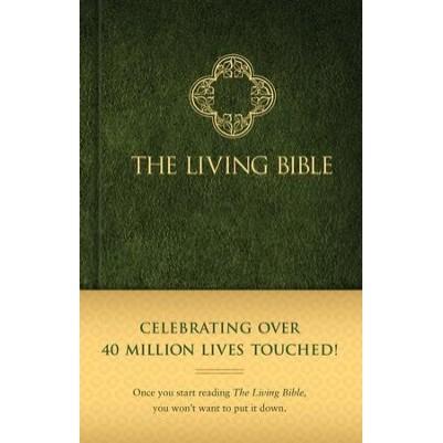 Living Bible H/C Green