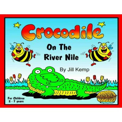 Crocodile On The River Nile