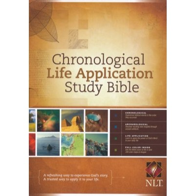 NLT Chronological Life Appl H/C