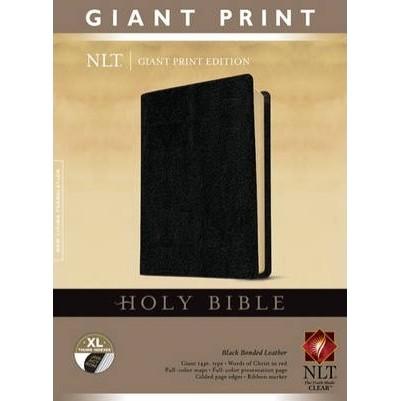 NLT Giant Print B/L Blk Indexed