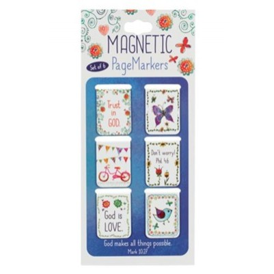 Pagemarker Set Magnetic Everyday Blessing