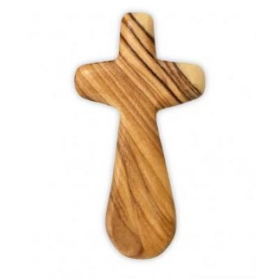 Cross Comfort Olive Wood Small 7Cm
