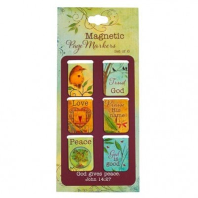 Pagemarker Set Magnetic Peaceful Thoughts
