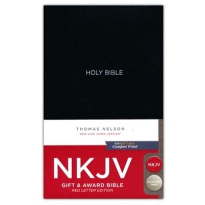 NKJV Gift & Award I/L Black