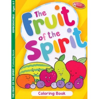 Fruit Of The Spirit Coloring Book Order 6 Pack