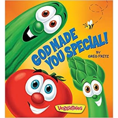 God Made You Special Board Book Veggie Tales