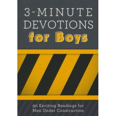 3 Minute Devotions For Boys 90 Exciting Readings For 8-12