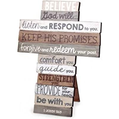 Believe Medium Cross 1 John 5:13