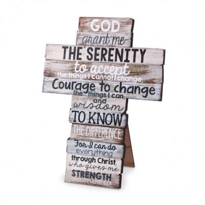 Serenity Desktop Cross Philippians 4:13