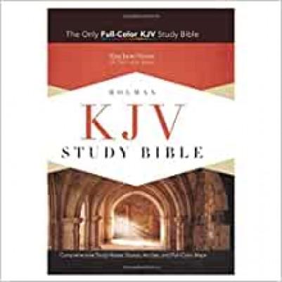 KJV Study Black H/C