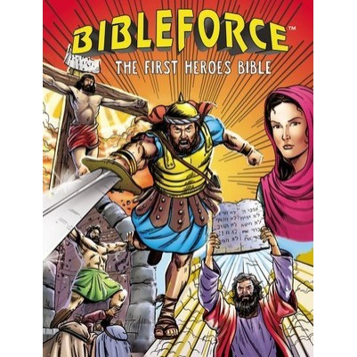 BibleForce First Heroes Bible Hardcover