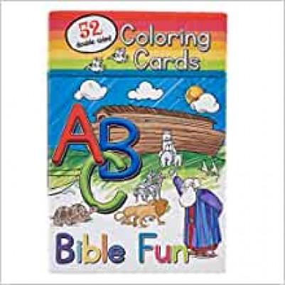 Abc Bible Fun 52 Coloring Cards Cbx012