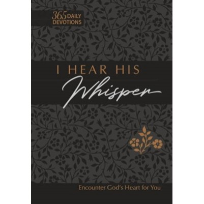 I Hear His Whisper V2 52 Devotions Imitation Leather