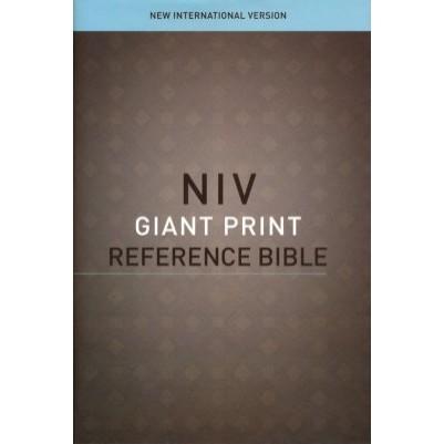 NIV Giant Print Reference H/C