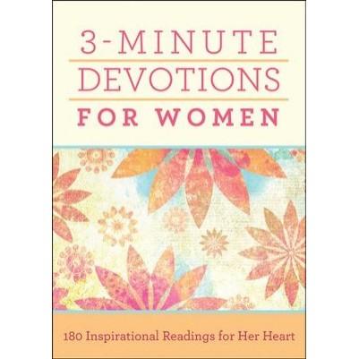 3 Minute Devotions For Women