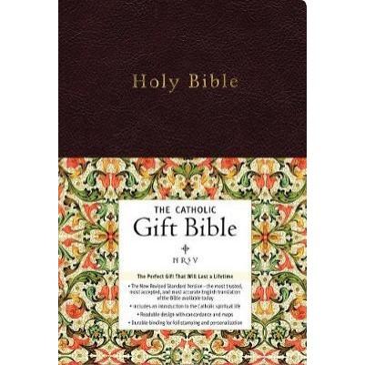 NRSV Catholic I/L Gift