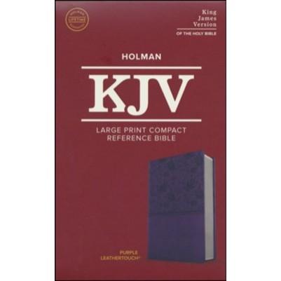 KJV Large Print Compact Purple