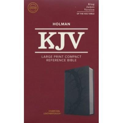 KJV Large Print Compact Charcoal