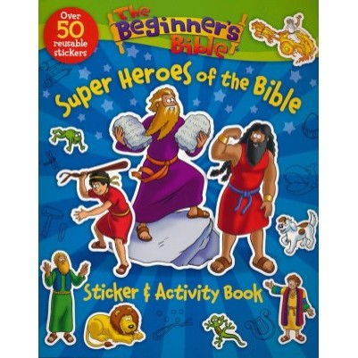 Super Heroes Of The Bible Stickers