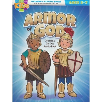 Armor Of God Coloring Book