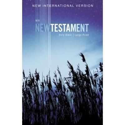 NIV New Testament Outreach Large Print