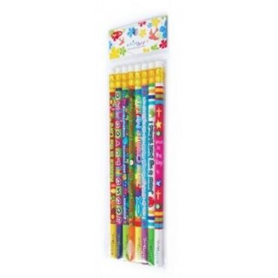 Pencil 8 Pkt (Christian Pencils)