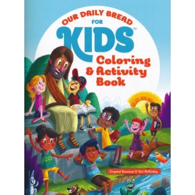 Our Daily Bread For Kids Colouring /Activity
