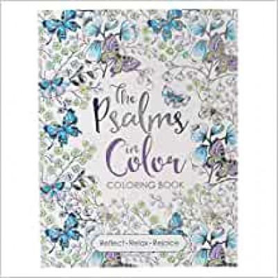 Psalms In Colour Colouring Book