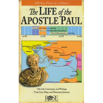 Life Of The Apostle Paul Pamphlet 200 Key Facts