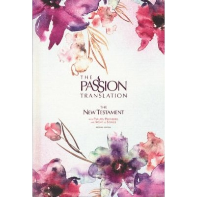 TPT NT Psalms Proverbs & Song Of Songs Plum/Floral 2020 edit