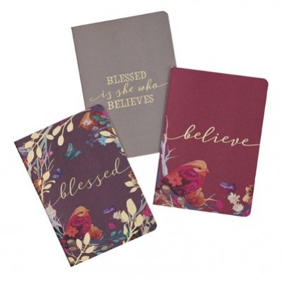 Notebook Blessed Is She (Set of 3)