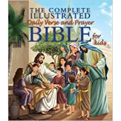 Complete Illustrated Daily Verse & Prayer Bible