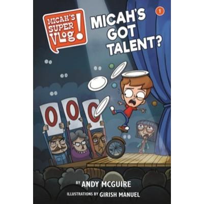 Micah's Super Vlog #1 Micah's Got Talent?