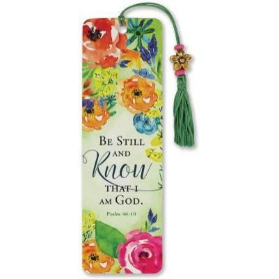 Be Still with Tassel Bookmark