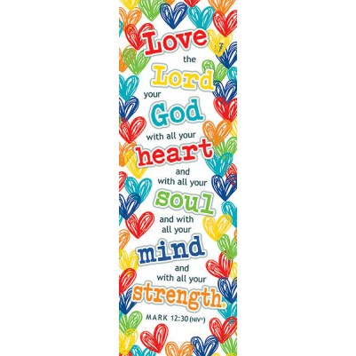 Love the Lord....Scripture 1 John 4:19 25 pkt