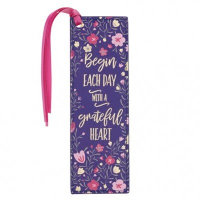 Pagemarker L/L Begin Each Day with a Grateful Heart