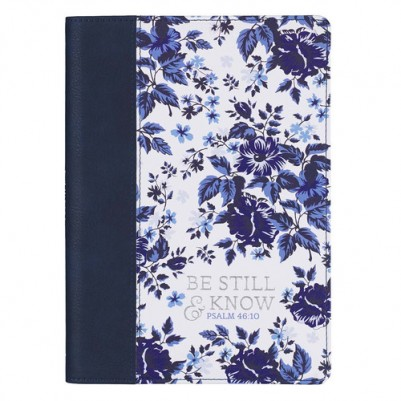 Be Still Blue Floral Luxleather
