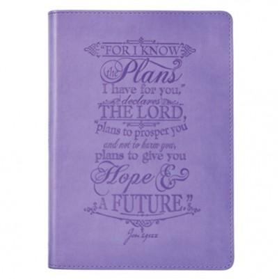 I Know the Plans Purple L/L