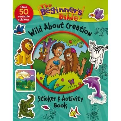 Wild About Creation Sticker Book