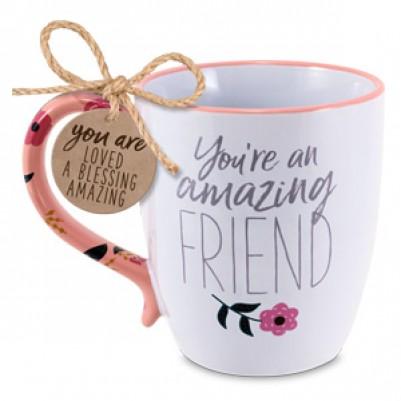 Amazing Friend Ceramic Mug Philippians 1:7