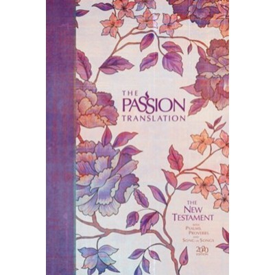 TPT NT Psalms Proverbs & Song of Songs Peony 2020 Edition