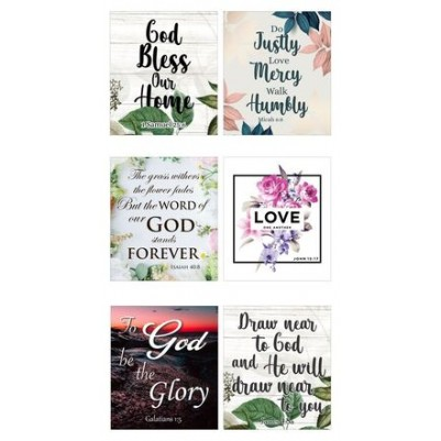 Coasters Nature Set of 6 - different designs