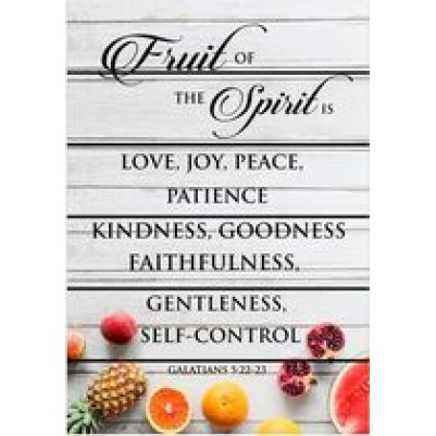 Fruit of the Spirit A4 PR17A-313