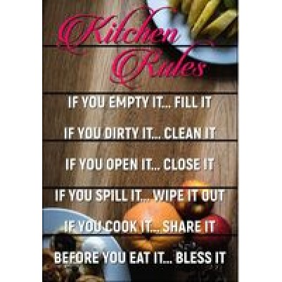 Kitchen Rules A3
