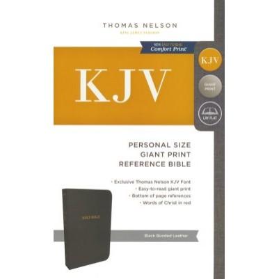 KJV Giant Print Personal Size Black