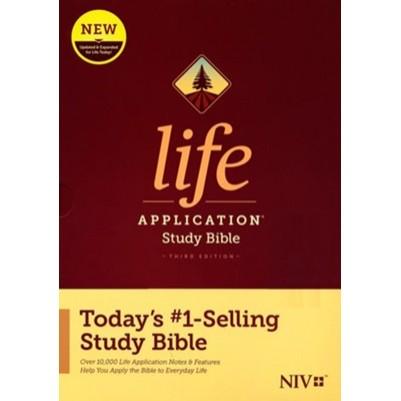NIV Life Application Study 3rd Edition Hard Cover