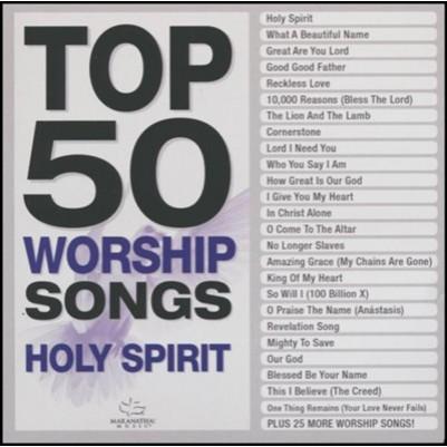 Top 50 Worship Songs Holy Spirit